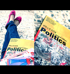 Politics ~ (Only u*) Tags: pink book shoes flat legs ben politics jeans richard gary p poems barrie huggins rosamond axford storys kbrowning yaayme