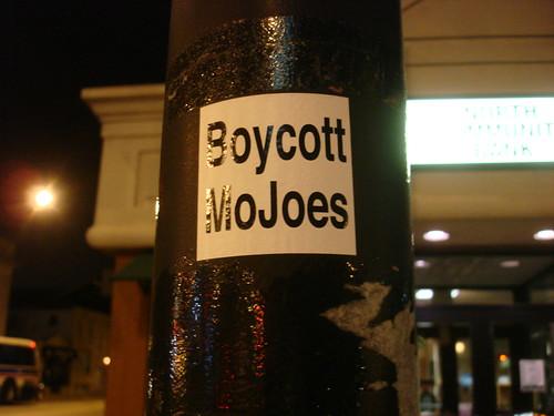Boycott MoJoes