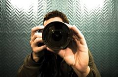 (navid j) Tags: camera reflection me self hands nikon elevator wide crazyhand