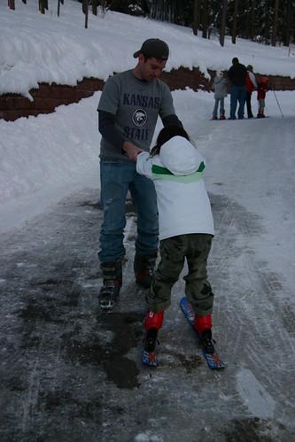 Pre ski school lessons