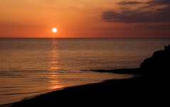 Aberystwyth - Sunset over the Irish Sea (Daniel Hodson) Tags: uk sunset sea england irish dan beach wales night clouds canon seaside sand cloudy unitedkingdom daniel aib cymru aberystwyth peter canon350d 1855mm canoneos350d freelance irishsea constitutionhill 100iso hodson visualcommunication blueribbonwinner hoddo artsinstitutebournemouth danielpeterhodson danielhodson theartsinstitutebournemouth dhodson wwwdanielhodsoncouk httpwwwdanielhodsoncouk