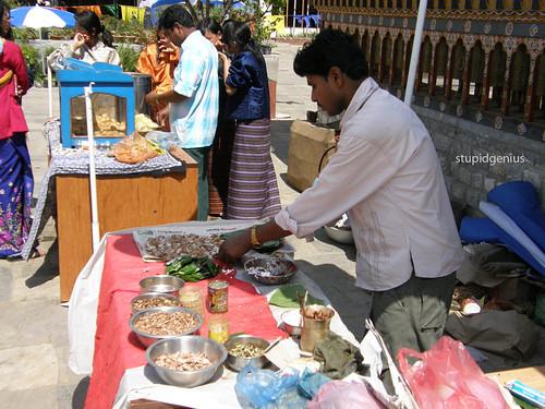 Betel Nuts Seller