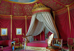 The bedroom of Napoleon (erikomoket) Tags: red france castle rouge bedroom nikon purple d70 100views napoleon fabulous    1000views malmaison napolon pourpre   10faves views600 abigfave seeninexplore citrit theperfectphotographer  10favesext