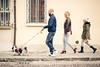 Italians (©Andrey) Tags: italians italy walk vacation cani people comacchio dog family ef5014 street autumn city window wall way via