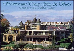 Postcard: Weathervane Terrrace Inn & Suites, Charlevoix, MIchigan by fantomaster