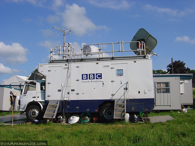 Britain Goes Wild OB Van