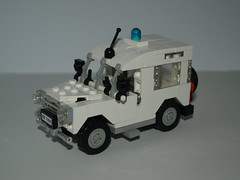 1982 Series III Land Rover Emergency vehicle