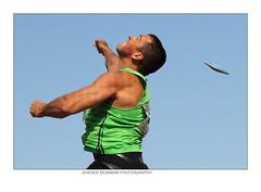 Flynth recordwedstrijden 2011 (athletics) (Jeroen Bosman) Tags: sky hoorn athletics erik spar throw discus atletiek discuswerpen leichtatletik baancircuit recordwedstrijden cade erikcade