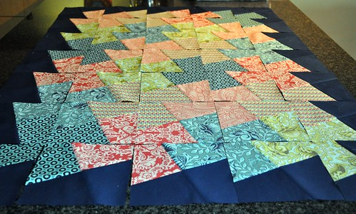 Neptune Quilt top progress