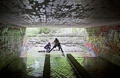 Urban Spelunking (Jay:Dee) Tags: graffiti sewer strom herowinner torontophotowalks topwrs rosedaleandsummerhill
