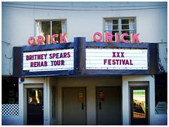 orick theatre (bjorkish) Tags: california festival tour theatre spears xxx wtf britney rehab orick