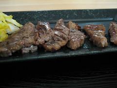極厚心たん定食@東武デパート東北物産展・伊達の牛たん