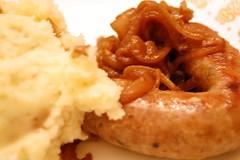 Lamb Sausage Dinner