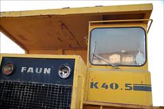 front of truck (-Filippos-) Tags: reflection abandoned window yellow truck big rusty cyprus sigma faun nicosia megalo   kokkinotrimithia k405 kokias kokiasltd fortigo