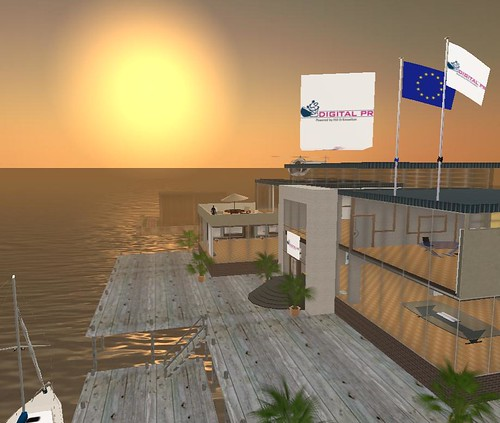 Sede Digital PR in Second Life