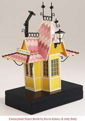 Disneyland Fantasyland Ticket Booth Replica