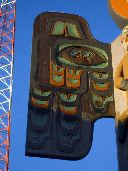 totem wing, Ketchikan, Alaska