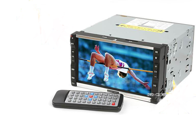 "7"" TOUCH SCREEN DVD/CD/SD/MP3/TV/AM FM DivX"