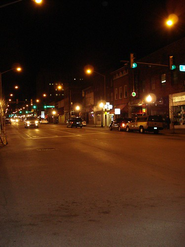 Main Street in downtown Butler, PA