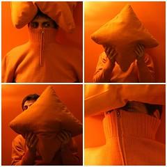 ninjarancio 4 (ciglieggia) Tags: orange fdsflickrtoys ninja arancio arancione mimetismo mimetizzarsi mimetizzato fotodivertenti colorannoluglio