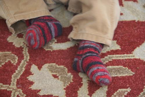 Boo's socks