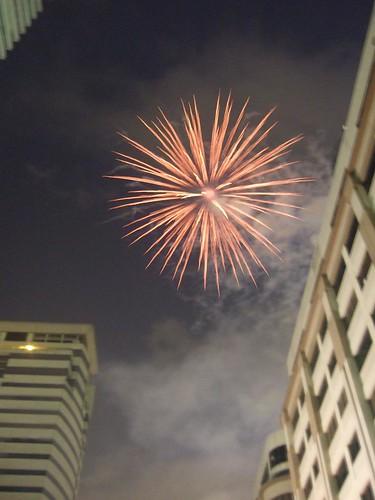 Fireworks at MidZone
