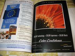 Publicidad en una revista