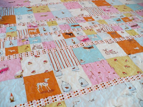 Heather Ross Quilt - Completed!