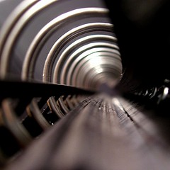 *Tunnel* (Anne*) Tags: black lines circle notebook spiral grey gris noir glow o expression curves perspective tunnel explore abstraction 2008 lignes cercle abstrait carnet courbes 500x500 200850plusfaves bauhausrendezvous ministract annedhuart