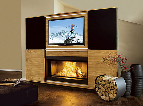 Vok multimedia Fireplace