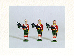 toy bagpipers