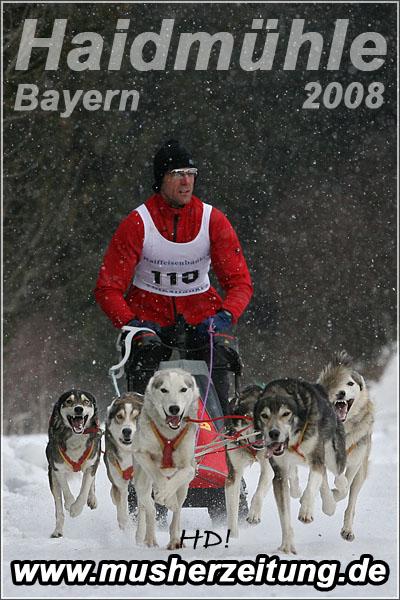 Schlittenhunderennen Haidmühle 2008 _ Georg Patsch