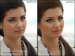 tuba make over :D ( Mona Yaqoob) Tags: orange makeup makeover tuba newlook turkish wahj