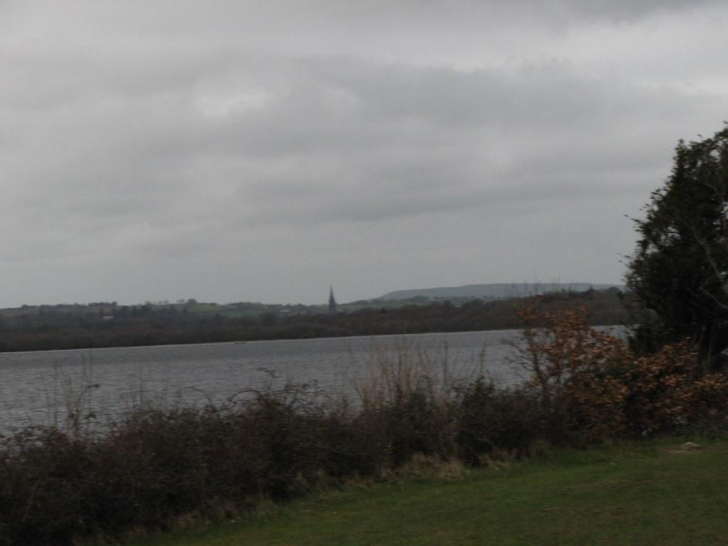 Looking at Killarney across Muckross Lake