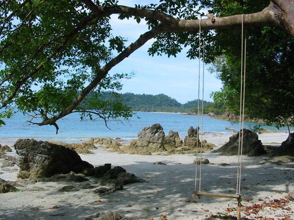 Пляж, качели, Таиланд...