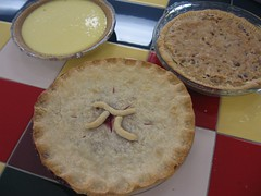 Documentation's homemade pies for Pi day