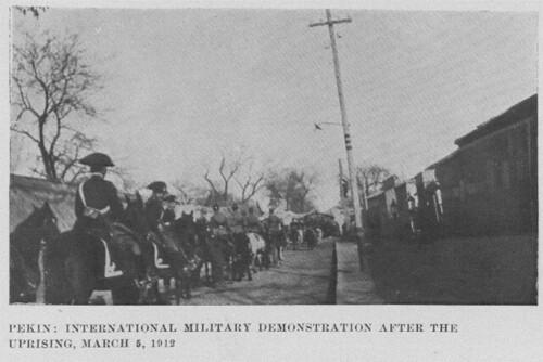 Troops in Peking