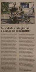 KMX Karts ilustram notícia sobre a Expo FCT no Jornal da Notícias