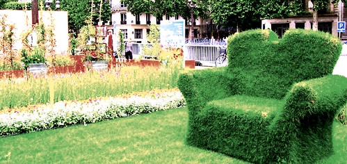 Grass Chair in Paris