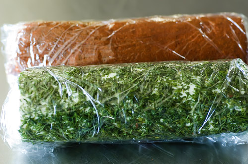 Goat Cheese With Fresh Dill And Paprika Recipe — Dishmaps