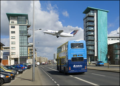 Ballymun Dublin (Tony Murphy) Tags: ireland dublin airplane lost boyle roscommon ballymun closeshave flyinglow tonymurphy
