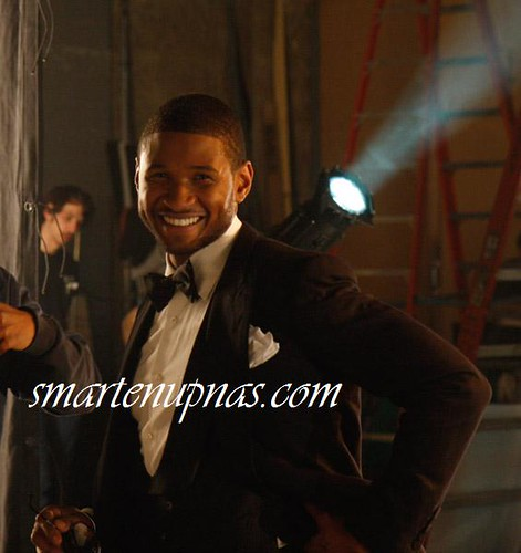 usher mtv shoot