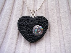 Jewel of my Heart Pendant (clayangel_sc) Tags: art beauty fashion one necklace beads artist handmade originalart ooak polymerclay fimo clay gift sculpey handcrafted wearableart accessories bracelets earrings etsy acessories brooches necklaces polymer artjewelry hypoallergenic adornments artisanjewelry canework handmadebeads artbeads handcraftedbeads pcagoe notpainted polymerclayjewelry oneofakindjewelry fauxjewelry southcarolinaartist jewelryartisan boldjewelry clayangel oneofakindpiece clayangelsc nopaintisinvolved finising