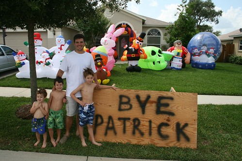 10 Inflatable Salute For Patrick