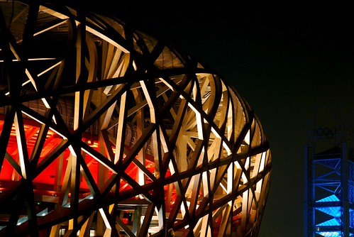 JO 2008: L'embrouille totale !: picture Bird Nest 鸟巢 by iamxuxiao