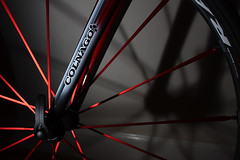 Colnago and Fulcrum (Dan Hontz) Tags: red race cycling spokes colnago zero fulcrum