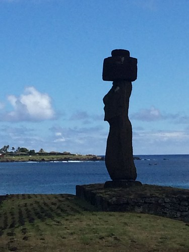 Moai Profile at Easter Island