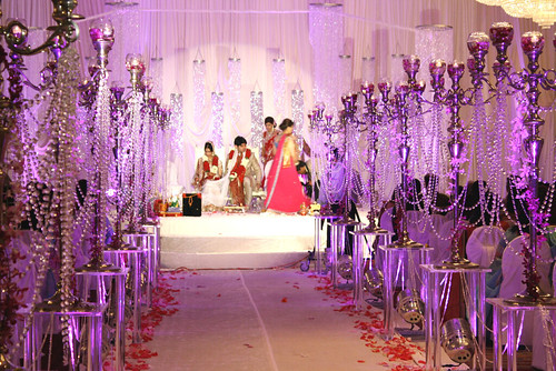 Truly Smitten Crystal Themed Indian Wedding
