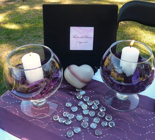 If you are planning a wedding and plan to have a unity candle as part of the