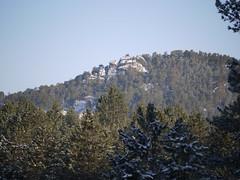 outside Custer (Thundercheese) Tags: snow southdakota custer